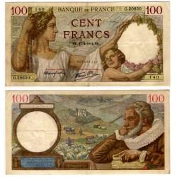 (94) Francia. 1941. 100 Francs (MBC)