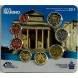 San Marino. 2014. Cartera Oficial (SC)