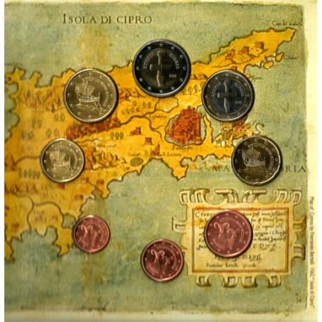 Chipre. 2008. Cartera Oficial (SC)