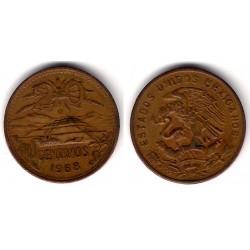 (440) Estados Unidos Mexicanos. 1968. 20 Centavos (MBC)