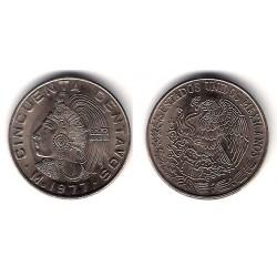 (452) Estados Unidos Mexicanos. 1977. 50 Centavos (SC) Rara