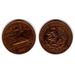 (440) Estados Unidos Mexicanos. 1967. 20 Centavos (BC)