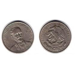 (444) Estados Unidos Mexicanos. 1964. 25 Centavos (EBC)