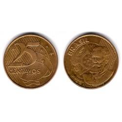 (650) Brasil. 1998. 25 Centavos (MBC)