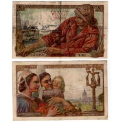 (100a) Francia. 1942. 20 Francs (BC)