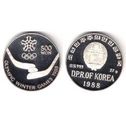 (16) Cor. del N. 1988. 500 Won (SC) (Plata)