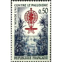 (1032) Francia. 1962. 50 Centimes. Contra la Malaria (Nuevo)