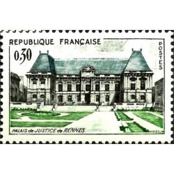 (1039) Francia. 1962. 30 Centimes. Palacio Justicia Rennes (Nuevo)