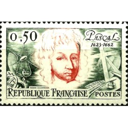 (1038) Francia. 1962. 50 Centimes. Pascal (Nuevo)