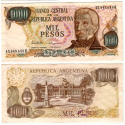 (304d) Argentina. 1976-83. 1000 Pesos (EBC)