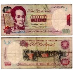 (76d) Argentina. 1998. 1000 Bolivares (BC-)
