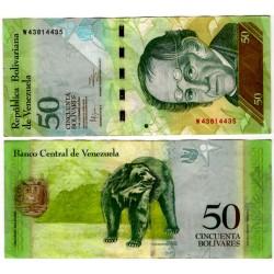 (92f) Venezuela. 2012. 50 Bolivares (MBC+)