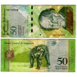 (92e) Venezuela. 2011. 50 Bolivares (MBC)