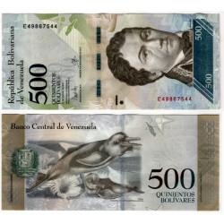 Venezuela. 2017. 500 Bolivares (EBC)