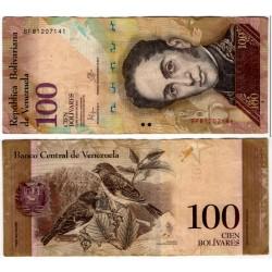 (93i) Venezuela. 2015. 100 Bolivares (MBC)