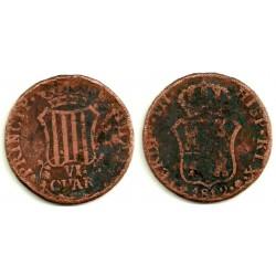 Fernando VII. 1812. 6 Cuartos (RC) Ceca de Cataluña