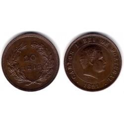(533) Portugal. 1891. 20 Reis (EBC+)