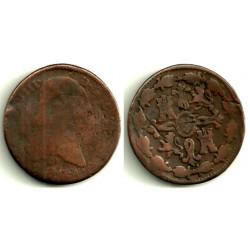 Carlos IV. 1804. 8 Maravedi (RC) Ceca de Segovia
