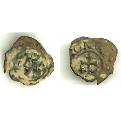 Carlos III (Arch. Austria). Sin Fecha. Dinero (BC-) Ceca de Zaragoza