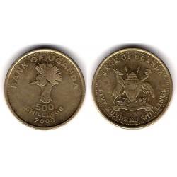(69) Uganda. 2008. 500 Shillings (EBC)