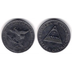 (83) Nicaragua. 1994. 50 Centavos (MBC)