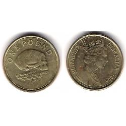 (1091) Gibraltar. 2008. 1 Pound (MBC)