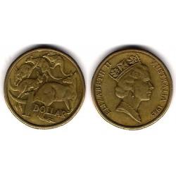 (84) Australia. 1985. 1 Dollar (MBC+)