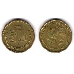 (549) Estados Unidos Mexicanos. 2008. 50 Centavos (MBC)
