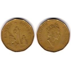 (258) Canadá. 1995. 1 Dollar (MBC-)