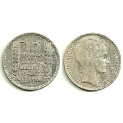 (878) Francia. 1934. 10 Francs (MBC)
