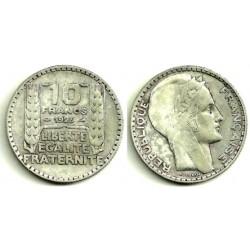 (878) Francia. 1929. 10 Francs (MBC) (Plata)