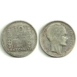 (878) Francia. 1931. 10 Francs (MBC) (Plata)