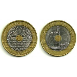 (1016) Francia. 1993. 20 Francs (EBC)