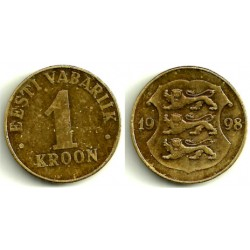 (35) Estonia. 1998. 1 Kroon (MBC)
