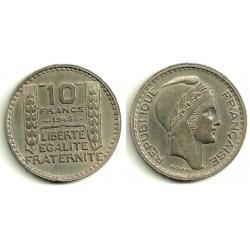 (909.1) Francia. 1948. 10 Francs (MBC)