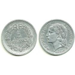 (888b.1) Francia. 1945. 5 Francs (BC+)