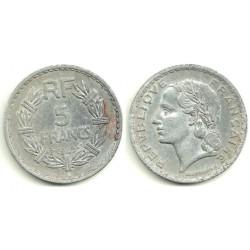 (888b.1) Francia. 1945. 5 Francs (BC)