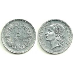 (888b.1) Francia. 1948. 5 Francs (EBC-)