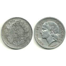 (888b.1) Francia. 1947. 5 Francs (MBC)
