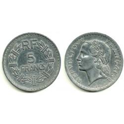 (888b.1) Francia. 1947. 5 Francs (MBC-)