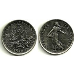 (926a.1) Francia. 1978. 5 Francs (EBC)