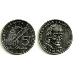 (1063) Francia. 1994. 5 Francs (EBC)