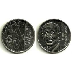 (1006) Francia. 1992. 5 Francs (MBC)