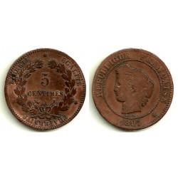 (821.1) Francia. 1897(A). 5 Centimes (BC-)