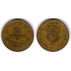(76.2a) Honduras. 1995. 10 Centavos (BC)