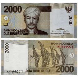 (148a) Indonesia. 2009. 2000 Rupiah (EBC)
