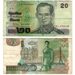 (109) Tailandia. 2003. 20 Baht (MBC)
