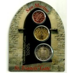 San Marino. 2005. Cartera Oficial reducida (SC)