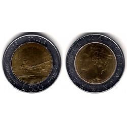 (111) Italia. 1985. 500 Lira (EBC)