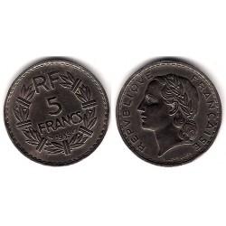 (888) Francia. 1935. 5 Francs (EBC)